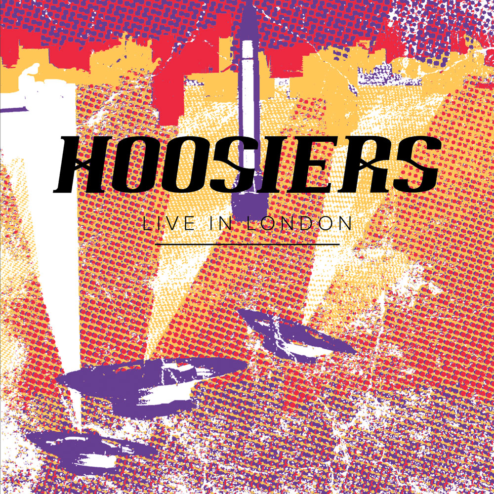 The Hoosiers Live In London Album Cover